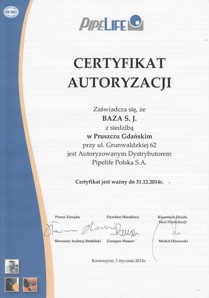 Certyfikat 08